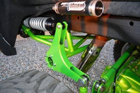 Bulletproof Lift Kit >> BulletProof Suspension 2011-2017 Chevy/GMC 2500-3500 4WD Rear Cantilever 4 Link System