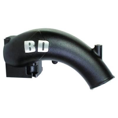 BD Diesel - BD Diesel X-Flow Power Intake Elbow (Black) - Dodge 2003-2007 5.9L 1041555