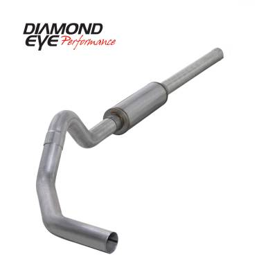 Diamond Eye Performance - Diamond Eye Performance 2004.5-2007.5 DODGE 5.9L CUMMINS 2500/3500 (ALL CAB AND BED LENGTHS)-4in. ALUMIN K4234A
