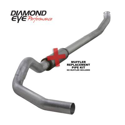 Diamond Eye Performance - Diamond Eye Performance 2004.5-2007.5 DODGE 5.9L CUMMINS 2500/3500 (ALL CAB AND BED LENGTHS)-5in. ALUMIN K5238A-RP