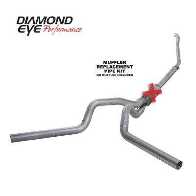 Diamond Eye Performance - Diamond Eye Performance 1994-1997.5 FORD 7.3L POWERSTROKE F250/F350 (ALL CAB AND BED LENGTHS) 4in. ALUMI K4309A-RP