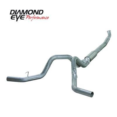 Diamond Eye Performance - Diamond Eye Performance 2004.5-2007.5 DODGE 5.9L CUMMINS 2500/3500 (ALL CAB AND BED LENGTHS)-5in. ALUMIN K5246A