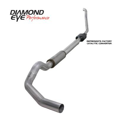 Diamond Eye Performance - Diamond Eye Performance 1994-1997.5 FORD 7.3L POWERSTROKE F250/F350 (ALL CAB AND BED LENGTHS) 5in. ALUMI K5314A