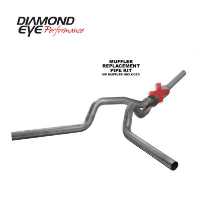 Diamond Eye Performance - Diamond Eye Performance 2004.5-2007.5 DODGE 5.9L CUMMINS 2500/3500 (ALL CAB AND BED LENGTHS)-4in. 409 ST K4236S-RP