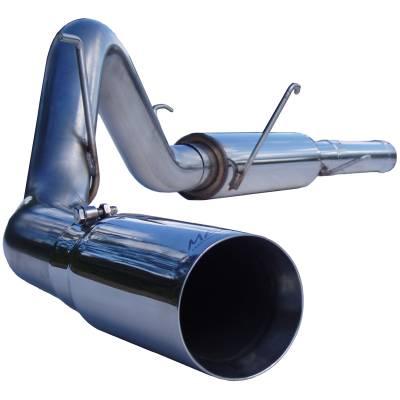 "MBRP Exhaust - MBRP Exhaust 4"" Cat Back, Single Side Exit, T304 S6108304"