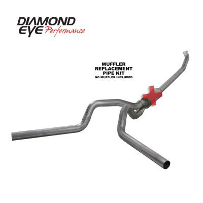 Diamond Eye Performance - Diamond Eye Performance 2004.5-2007.5 DODGE 5.9L CUMMINS 2500/3500 (ALL CAB AND BED LENGTHS)-4in. 409 ST K4237S-RP