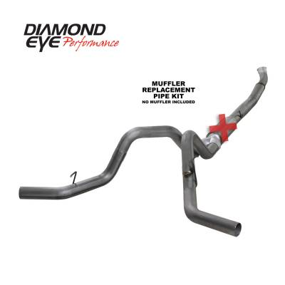 Diamond Eye Performance - Diamond Eye Performance 2004.5-2007.5 DODGE 5.9L CUMMINS 2500/3500 (ALL CAB AND BED LENGTHS)-5in. 409 ST K5246S-RP
