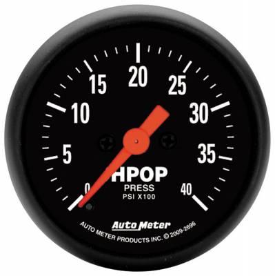 Auto Meter - Auto Meter Gauge; High Press Oil Pump; 2 1/16in.; 4kpsi; Digital Stepper Motor; Z Series 2696