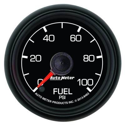 Auto Meter - Auto Meter Gauge; Fuel Pressure; 2 1/16in.; 30psi; Stepper Motor; Ford Factory Match 8463