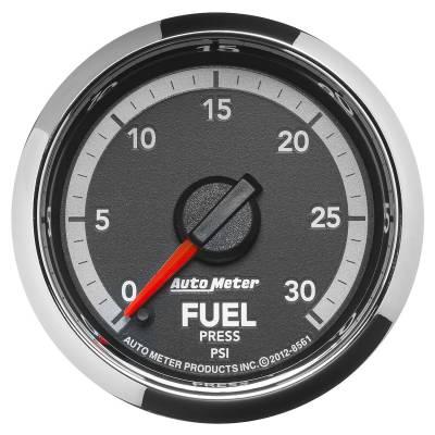 Auto Meter - Auto Meter Gauge; Fuel Press; 2 1/16in.; 30psi; Digital Stepper Motor; Ram Gen 4 Fact. Matc 8561