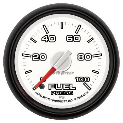 Auto Meter - Auto Meter Gauge; Fuel Press; 2 1/16in.; 100psi; Digital Stepper Motor; Ram Gen 3 Fact. Mat 8563