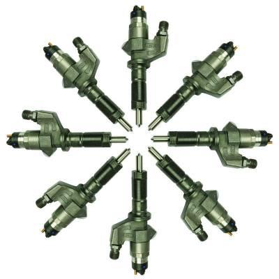 BD Diesel - BD Diesel Injector Set - Duramax LB7 2001-2004 - 60hp 1076600