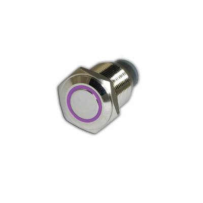 Oracle Lighting - Oracle Lighting ORACLE On/Off Flush Mount LED Switch  - UV Purple 1903-007