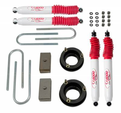 Tuff Country - Tuff Country COMPLETE KIT (W/SX8000 SHOCKS) DODGE RAM 2IN. 32914KN