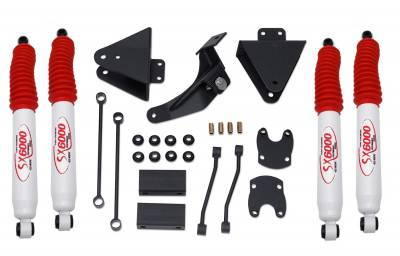 Tuff Country - Tuff Country COMPLETE KIT (W/SX6000 SHOCKS) FORD F250/F350 3IN. 23955KH