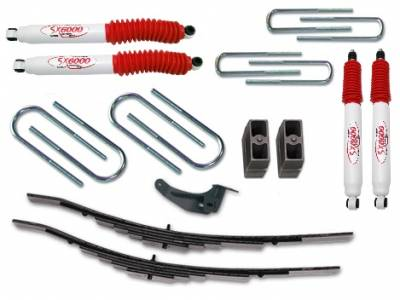 Tuff Country - Tuff Country COMPLETE KIT (W/SX6000 SHOCKS) FORD EXCURSION 2.5IN. 22960KH