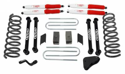 Tuff Country - Tuff Country COMPLETE KIT (W/SX8000 SHOCKS) DODGE RAM 4.5IN. 34018KN