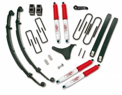 Tuff Country - Tuff Country COMPLETE KIT (W/SX8000 SHOCKS) FORD F250/F350 6IN. 25920KN