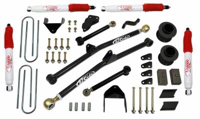 Tuff Country - Tuff Country COMPLETE KIT (W/SX6000 SHOCKS) DODGE RAM 4.5IN. 34224KH