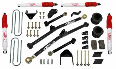 Tuff Country - Tuff Country COMPLETE KIT (W/SX6000 SHOCKS) DODGE RAM 6IN. 36213KH