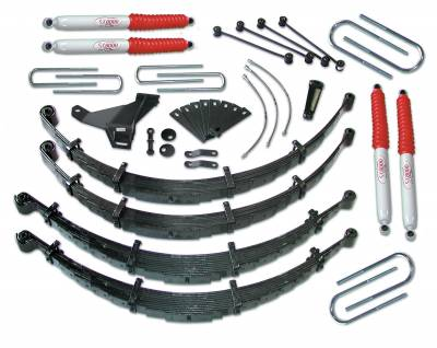 Tuff Country - Tuff Country COMPLETE KIT (W/SX8000 SHOCKS) FORD F250/F350 8IN. 28954KN