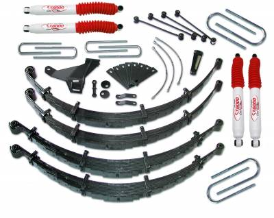 Tuff Country - Tuff Country COMPLETE KIT (W/SX6000 SHOCKS) FORD F250/F350 8IN. 28954KH