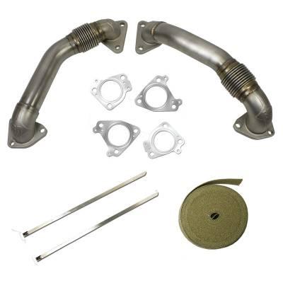 BD Diesel - BD Diesel UpPipe Kit - Chevy 2001-2015 6.6L Duramax 1043800