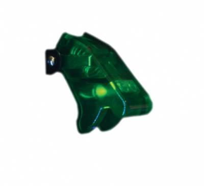 Race Sport - Race Sport 12V LED Toggle Switch (Green) RS-12V-GREEN