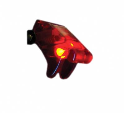 Race Sport - Race Sport 12V LED Toggle Switch (Red) RS-12V-RED