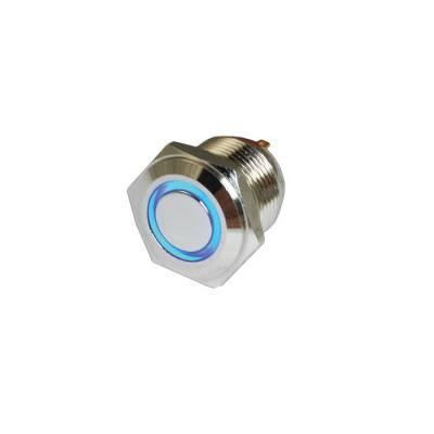 Oracle Lighting - Oracle Lighting ORACLE Momentary Flush Mount  LED Switch - Blue 1802-002