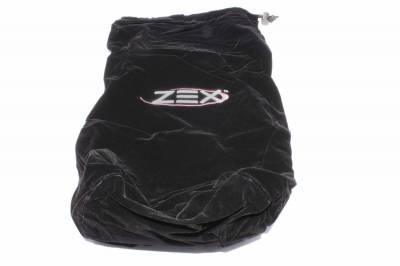 ZEX - ZEX Velvet Bottle Bag, Zex Black 82000B