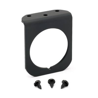 Auto Meter - Auto Meter Gauge Mounting Panel; Single; 2 1/16in.; black; aluminum 2236
