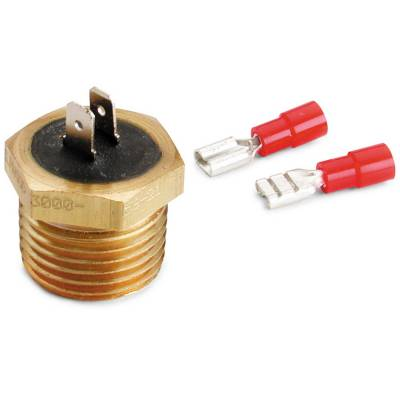 Auto Meter - Auto Meter Temperature Switch; 200deg. F; 1/2in. NPT Male; for Pro-Lite Warning Light 3246