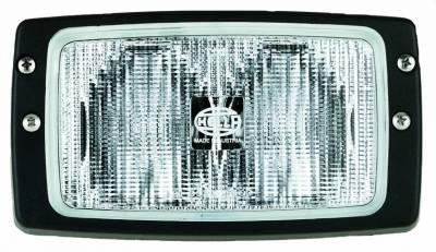 Hella - Hella Module 6213 Halogen Double Beam Flush Mount Work Lamp (CR) H15213021