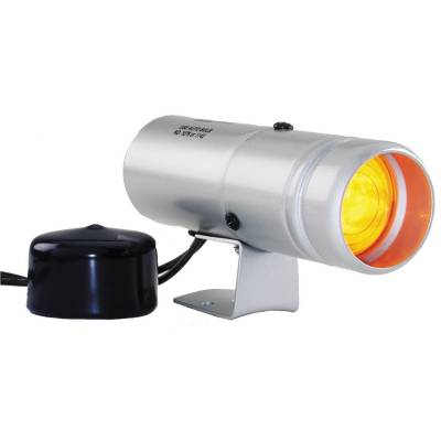 Auto Meter - Auto Meter Shift Light; Amber; Pedestal; Silver; Shift-Lite 5335