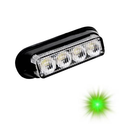 Oracle Lighting - Oracle Lighting ORACLE Dual 4 LED Undercover Strobe Light - Green 3403-004