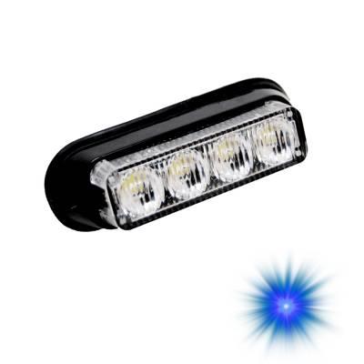 Oracle Lighting - Oracle Lighting ORACLE Dual 4 LED Undercover Strobe Light - Blue 3403-002