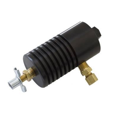 Auto Meter - Auto Meter Particle Trap Kit; Exhaust Pressure; Aluminum; Black 5375