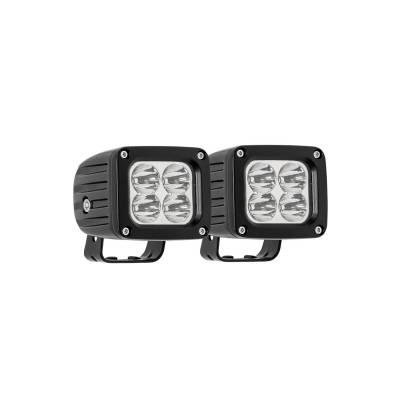 Westin - Westin QUADRANT LED AUX LIGHT 09-12252B-PR