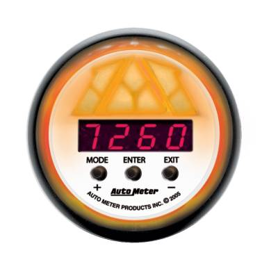 Auto Meter - Auto Meter Gauge; Shift Light; Digital RPM w/multi-color LED Light; DPSS Level 2; Phantom 5788