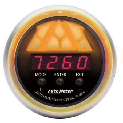 Auto Meter - Auto Meter Gauge; Shift Light; Digital RPM w/multi-color LED Light; DPSS Level 2; Sport-Com 3388