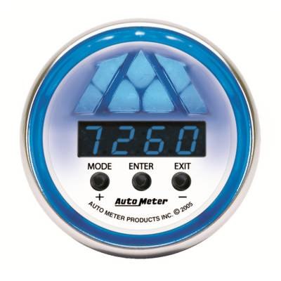 Auto Meter - Auto Meter Gauge; Shift Light; Digital RPM w/multi-color LED Light; DPSS Level 2; C2 7188