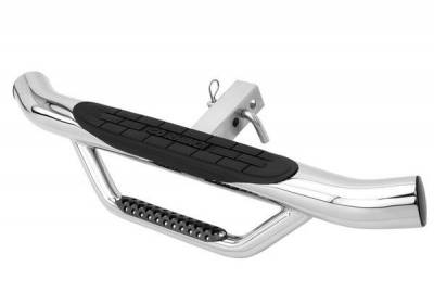 Go Rhino - Go Rhino Dominator Hitch Step - Polished Stainless D360PS