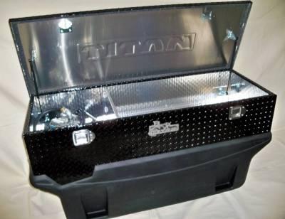Titan Fuel Tanks - Titan Fuel Tanks Large Black Diamond Toolbox 99 9116 0000