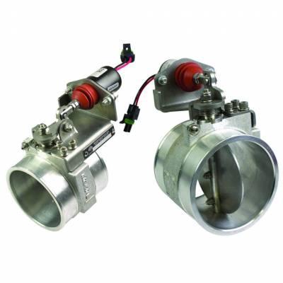 BD Diesel - BD Diesel Positive Air Shutdown - 2.0in Generic Manual Activation 1036734-M
