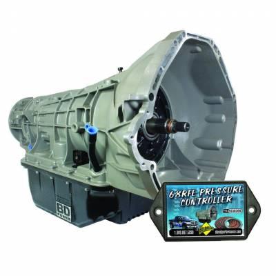 BD Diesel - BD Diesel Transmission - 2007.5-2010 Dodge 68RFE 4wd w/White connector c/w Billet Input 1064244B