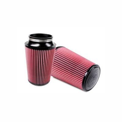 S&B Filters - S&B Filters Replacement Filter for S&B Cold Air Intake Kit 1998-2003 Power Stroke (Cleanable, 8-ply Cotton) KF-1006