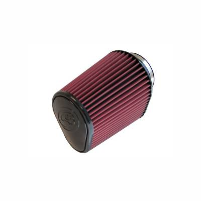 S&B Filters - S&B Filters Replacement Filter for S&B Cold Air Intake Kit 2011-2016 Power Stroke (Cleanable, 8-ply Cotton) KF-1050
