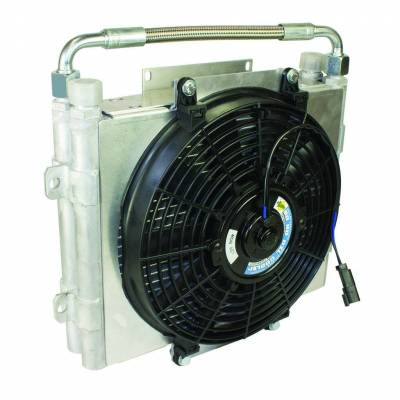 BD Diesel - BD Diesel Xtrude Trans Cooler - Double Stacked (No Install Kit) 1300601-DS