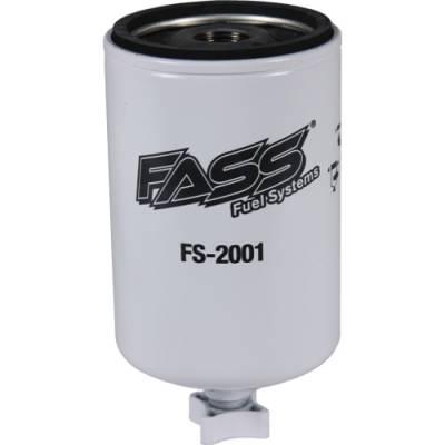 FASS - FASS- Old** Titanium Water Separator (Blue Model)